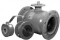 Кран шаровой полнопроходной фланцевый для газа AH-30k/FP / Dn 15-200 мм