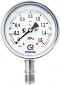 Манометр виброустойчивый коррозионностойкий ТМ6 ТМ-621, ТВ-621, ТМВ-621