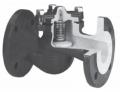 Клапан обратный подъёмный фланцевый Тип 287А