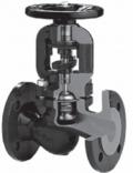 Вентиль (клапан) запорный с сильфонным уплотнением и невыдвижным штоком фланцевый Тип 234А