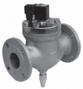 Электромагнитный нормально-закрытый запорный клапан фланцевый 2VE50DBA (для воздуха), 2VE50DBB (для воды)