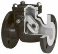 Клапан обратный поворотный полнопроходной с металлическим диском для загрязненных жидкостей Тип 302А