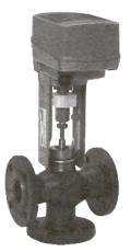 Регулирующий клапан фланцевый с электромеханическим приводом Тип RV103