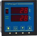 Термодат-13KX3 Двухканальный ПИД-регулятор с двумя светодиодными дисплеями