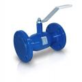 Кран шаровой стандартнопроходной - Temper 284 присоединение фланец/фланец