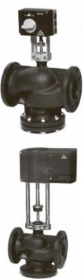 Регулирующий клапан с электромеханическим приводом Тип RV113
