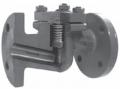 Клапан обратный подъёмный фланцевый из стали Тип 292