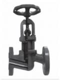 Вентиль (клапан) запорный с сильфонным уплотнением Тип 218М