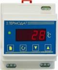 Термодат-08M2 Одноканальный эконом измеритель температуры с креплением на DIN-рейку