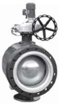 Кран шаровой полнопроходной фланцевый для газа WK-6a / Dn 250-500 мм