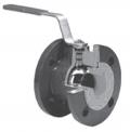 Кран шаровой полнопроходной фланцевый для воды Тип 565