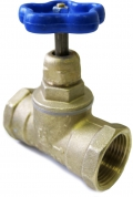 Вентиль (клапан) латунный 15Б3р муфта  / муфта