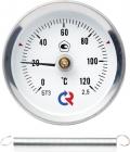 Биметаллический термометр БТ-30 с пружиной - Ф63