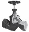 Вентиль (клапан) запорный резьбовой Тип 201А