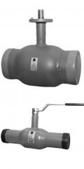 Кран шаровой стандартный под сварку для газа AH-30 / Dn 10-250 мм