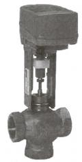 Регулирующий клапан муфтовый с электромехиническим приводом Тип RV102